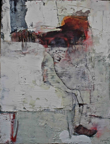 Asemántic 4. 116x89. mix. canvas