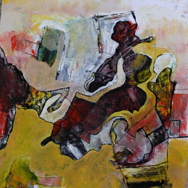 Dynamic forms 2. 30x30 mix. paper
