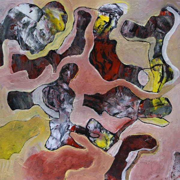Dynamic forms 3. 30x30 mix. paper