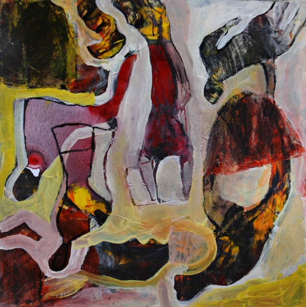 Dynamic forms 4. 30x30 mix. paper