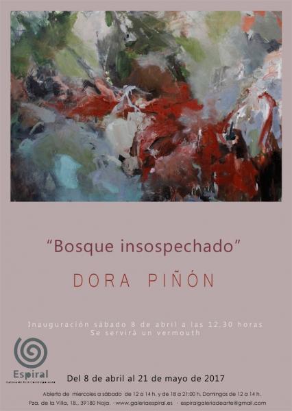 Cartel Dora Bosque insospechado w