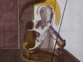 Sin título. Técnica mixta /cartón 101x107 cm.