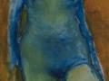 Sin título. Oleo sobre lienzo 84x54 cm.