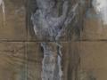 Sin título. Oleo sobre Cartón 169x66 cm.