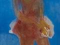 Bailarina. Oleo sobre lienzo 218x76 cm.