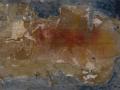 Sin título. Mortero Tinta y Pigmento sobre cartón 66x50 cm.