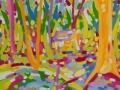 La-casa-del-bosque-29,5-x-40,5-cm-Gouache-sobre-papel